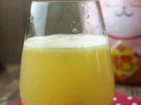百香果雪梨汁的做法