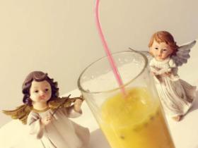 百香果芒果汁的做法