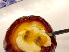 百香果蒸鸡蛋