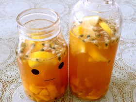 百香果做水果茶的好处