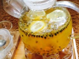 百香果柠檬水果茶怎么做