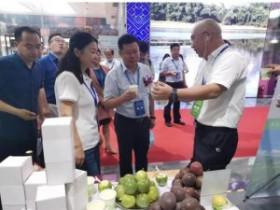 榕江百香果在亚洲果蔬博览会广州站甜蜜亮相