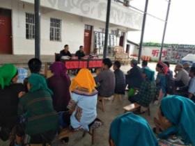 沙拉托乡开展残疾人百香果、养殖实用技术培训