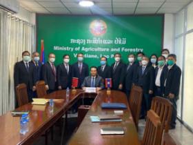 中老签署老挝百香果输华议定书