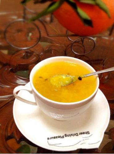 百香果果茶怎么做,百香果可以和脐橙一起吃吗