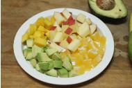 百香果牛油果沙拉的做法