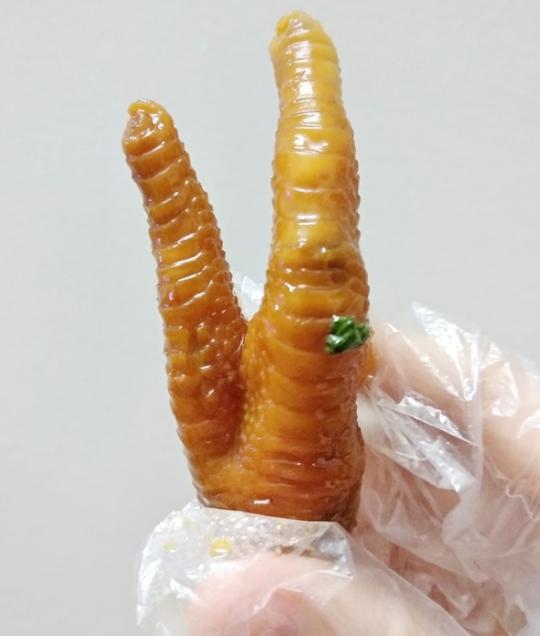 柠檬百香果鸡爪的做法