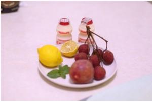 荔枝百香果饮料的做法