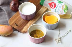 百香果芒果酸奶雪糕的做法