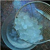 百香果芦荟冰茶的做法