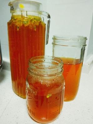 百香果蜜桃茶怎么做