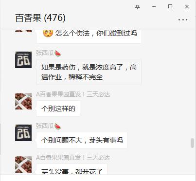 百香果微信交流群