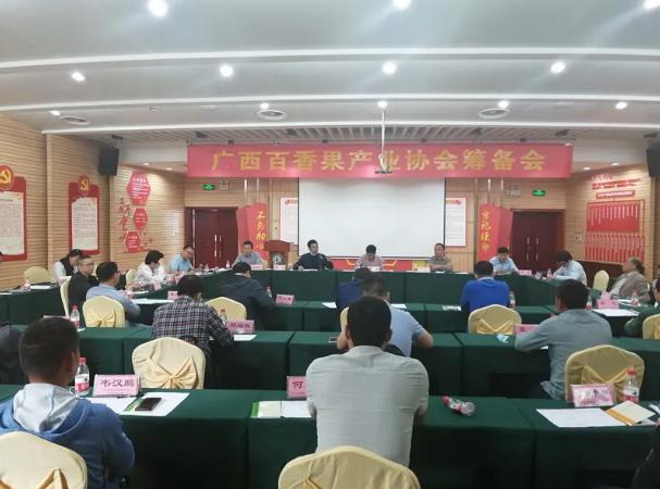 广西成立百香果产业协会,顺利在南宁召开